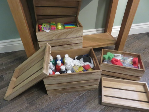 crate storage boxes