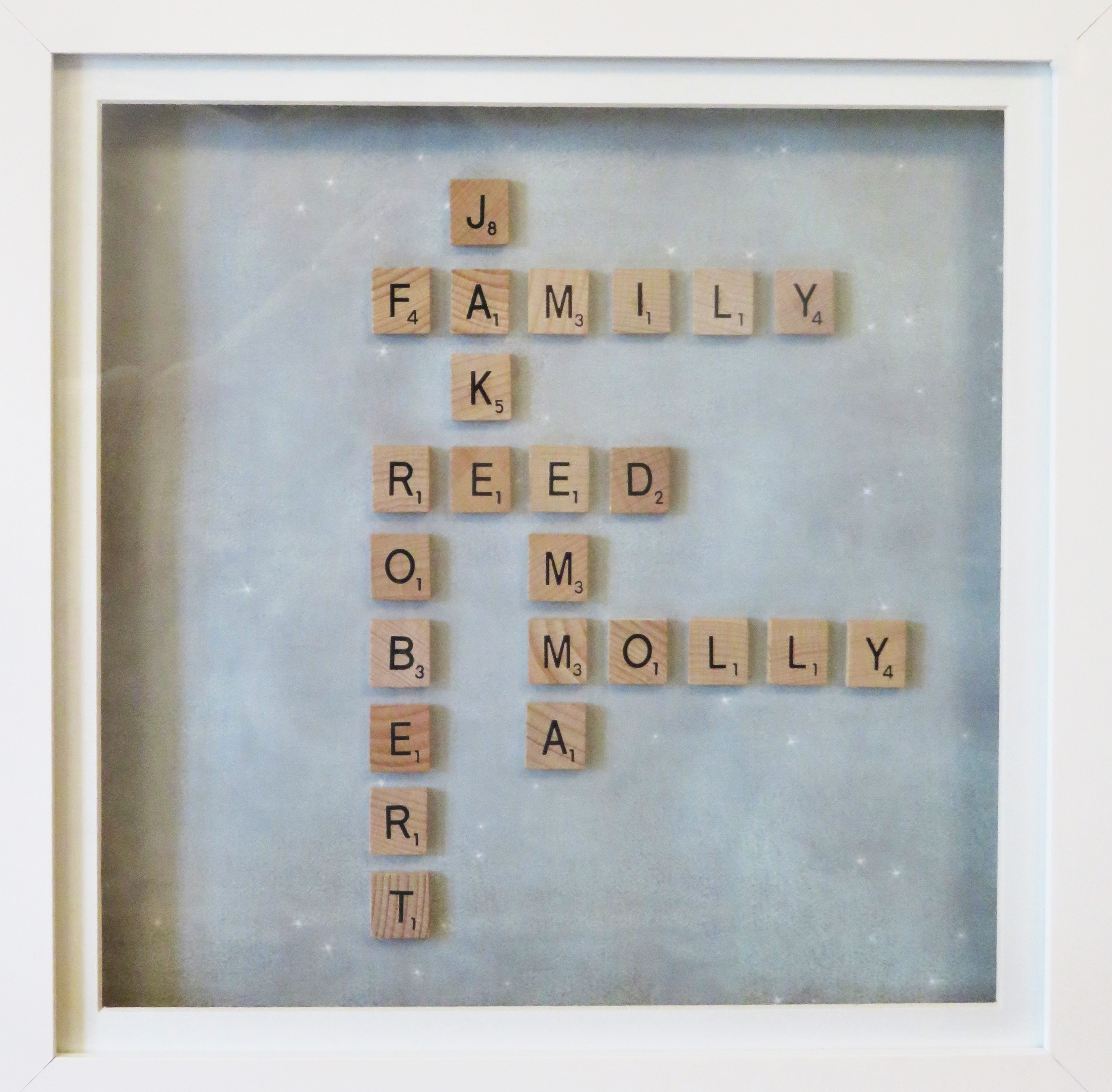 the completed scrabble picture