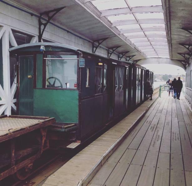 the Hythe train